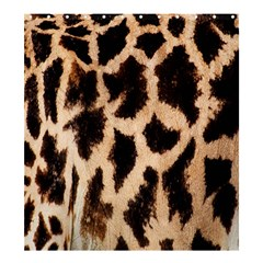 Yellow And Brown Spots On Giraffe Skin Texture Shower Curtain 66  X 72  (large)  by Nexatart