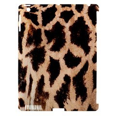 Yellow And Brown Spots On Giraffe Skin Texture Apple Ipad 3/4 Hardshell Case (compatible With Smart Cover) by Nexatart