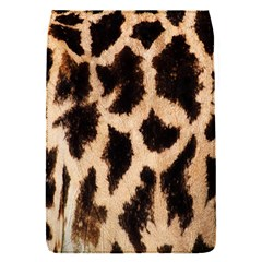 Yellow And Brown Spots On Giraffe Skin Texture Flap Covers (s)  by Nexatart