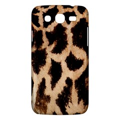 Yellow And Brown Spots On Giraffe Skin Texture Samsung Galaxy Mega 5 8 I9152 Hardshell Case  by Nexatart