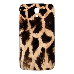 Yellow And Brown Spots On Giraffe Skin Texture Samsung Galaxy Mega I9200 Hardshell Back Case by Nexatart