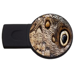 Butterfly Wing Detail Usb Flash Drive Round (4 Gb)