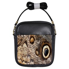 Butterfly Wing Detail Girls Sling Bags by Nexatart