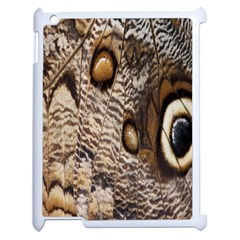 Butterfly Wing Detail Apple Ipad 2 Case (white) by Nexatart