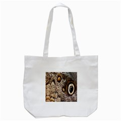 Butterfly Wing Detail Tote Bag (white) by Nexatart