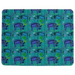 Elephants Animals Pattern Jigsaw Puzzle Photo Stand (rectangular) by Nexatart