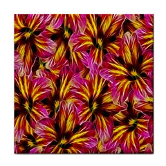 Floral Pattern Background Seamless Tile Coasters by Nexatart