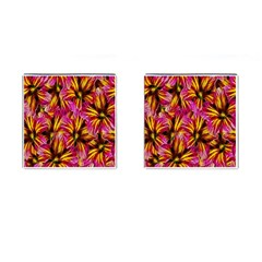 Floral Pattern Background Seamless Cufflinks (square) by Nexatart
