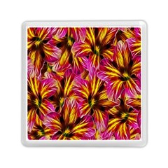 Floral Pattern Background Seamless Memory Card Reader (square)  by Nexatart