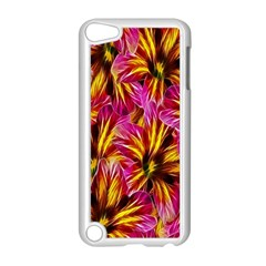 Floral Pattern Background Seamless Apple Ipod Touch 5 Case (white) by Nexatart
