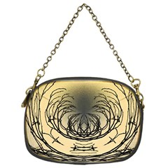 Atmospheric Black Branches Abstract Chain Purses (one Side)  by Nexatart
