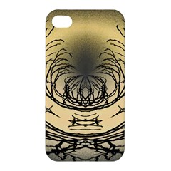 Atmospheric Black Branches Abstract Apple Iphone 4/4s Premium Hardshell Case by Nexatart