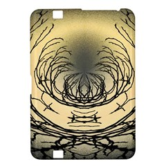 Atmospheric Black Branches Abstract Kindle Fire Hd 8 9  by Nexatart