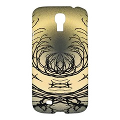 Atmospheric Black Branches Abstract Samsung Galaxy S4 I9500/i9505 Hardshell Case by Nexatart