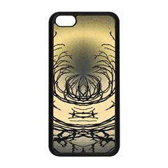 Atmospheric Black Branches Abstract Apple Iphone 5c Seamless Case (black) by Nexatart
