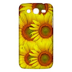 Sunflowers Background Wallpaper Pattern Samsung Galaxy Mega 5 8 I9152 Hardshell Case  by Nexatart