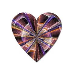 Background Image With Wheel Of Fortune Heart Magnet by Nexatart