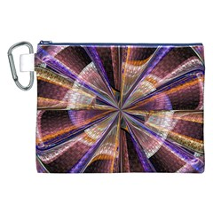 Background Image With Wheel Of Fortune Canvas Cosmetic Bag (xxl) by Nexatart