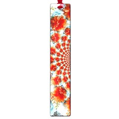 Stylish Background With Flowers Large Book Marks by Nexatart