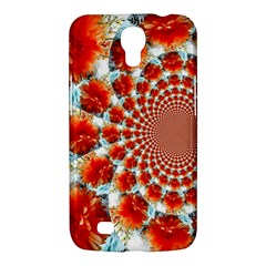 Stylish Background With Flowers Samsung Galaxy Mega 6 3  I9200 Hardshell Case by Nexatart