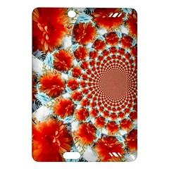 Stylish Background With Flowers Amazon Kindle Fire Hd (2013) Hardshell Case by Nexatart