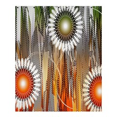Floral Abstract Pattern Background Shower Curtain 60  X 72  (medium)  by Nexatart