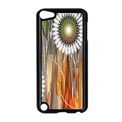 Floral Abstract Pattern Background Apple Ipod Touch 5 Case (black) by Nexatart