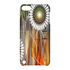 Floral Abstract Pattern Background Apple Ipod Touch 5 Hardshell Case With Stand by Nexatart