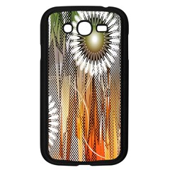 Floral Abstract Pattern Background Samsung Galaxy Grand Duos I9082 Case (black) by Nexatart