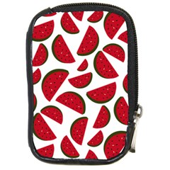 Fruit Watermelon Seamless Pattern Compact Camera Cases by Nexatart