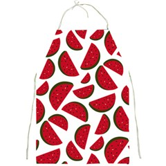 Fruit Watermelon Seamless Pattern Full Print Aprons by Nexatart