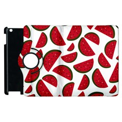 Fruit Watermelon Seamless Pattern Apple Ipad 3/4 Flip 360 Case by Nexatart