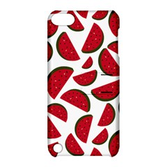 Fruit Watermelon Seamless Pattern Apple Ipod Touch 5 Hardshell Case With Stand by Nexatart