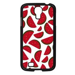 Fruit Watermelon Seamless Pattern Samsung Galaxy S4 I9500/ I9505 Case (black) by Nexatart