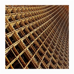 Construction Site Rusty Frames Making A Construction Site Abstract Medium Glasses Cloth by Nexatart