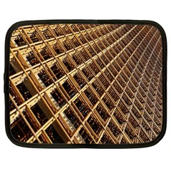 Construction Site Rusty Frames Making A Construction Site Abstract Netbook Case (xxl)  by Nexatart