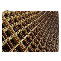 Construction Site Rusty Frames Making A Construction Site Abstract Cosmetic Bag (xxl)  by Nexatart