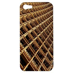 Construction Site Rusty Frames Making A Construction Site Abstract Apple Iphone 5 Hardshell Case by Nexatart