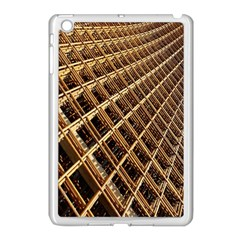 Construction Site Rusty Frames Making A Construction Site Abstract Apple Ipad Mini Case (white)
