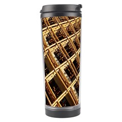 Construction Site Rusty Frames Making A Construction Site Abstract Travel Tumbler by Nexatart