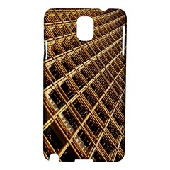 Construction Site Rusty Frames Making A Construction Site Abstract Samsung Galaxy Note 3 N9005 Hardshell Case by Nexatart
