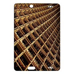 Construction Site Rusty Frames Making A Construction Site Abstract Amazon Kindle Fire Hd (2013) Hardshell Case by Nexatart