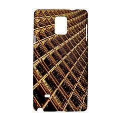 Construction Site Rusty Frames Making A Construction Site Abstract Samsung Galaxy Note 4 Hardshell Case by Nexatart