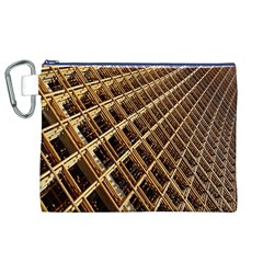 Construction Site Rusty Frames Making A Construction Site Abstract Canvas Cosmetic Bag (xl) by Nexatart