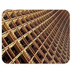 Construction Site Rusty Frames Making A Construction Site Abstract Double Sided Flano Blanket (medium)  by Nexatart