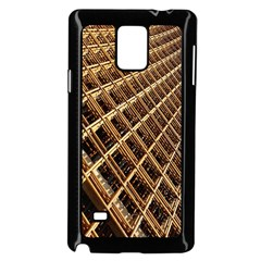 Construction Site Rusty Frames Making A Construction Site Abstract Samsung Galaxy Note 4 Case (black) by Nexatart