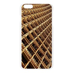 Construction Site Rusty Frames Making A Construction Site Abstract Apple Seamless iPhone 6 Plus/6S Plus Case (Transparent)