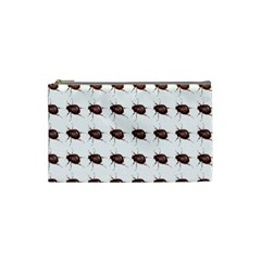 Insect Pattern Cosmetic Bag (small)  by Nexatart