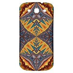 Kaleidoscopic Pattern Colorful Kaleidoscopic Pattern With Fabric Texture Samsung Galaxy S3 S Iii Classic Hardshell Back Case by Nexatart
