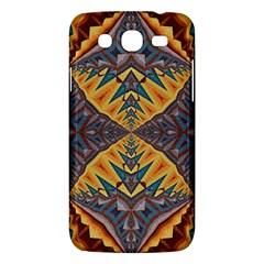 Kaleidoscopic Pattern Colorful Kaleidoscopic Pattern With Fabric Texture Samsung Galaxy Mega 5 8 I9152 Hardshell Case  by Nexatart